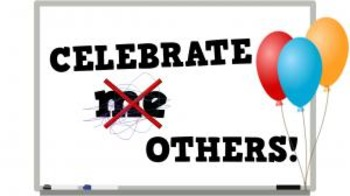 Celebrate Others! (video)