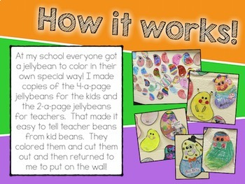 Celebrate Our Differences!  Jellybean Bulletin Board Set