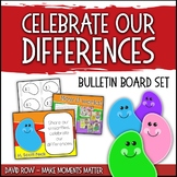 Celebrate Our Differences!  Jellybean Bulletin Board Set for Diversity