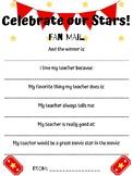 Celebrate Our Stars! Teacher Appreciation Template