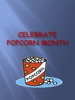 Celebrate Popcorn Month - October
