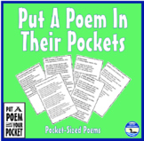 Celebrate Put a Poem in Your Pocket Day Any Day of the Year with 48 Pocket Poems