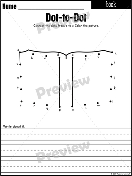 Celebrate Reading Dot-to-Dot / Connect the Dots