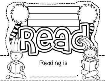 Celebrate Reading Headband Hat