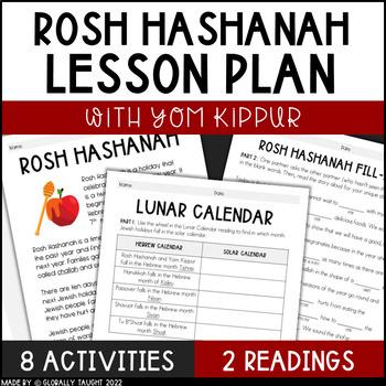 Celebrate Rosh Hashanah, the Jewish New Year, with Activities!