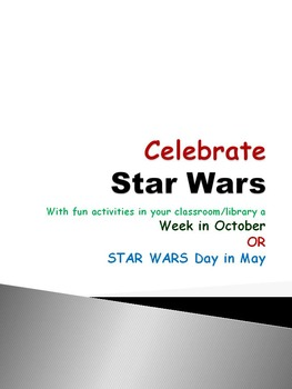 STAR WARS Week in October / STAR WARS Day in May