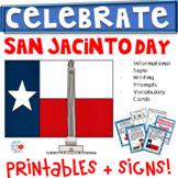 San Jacinto Day (1st/2nd/3rd) Signs, Printables, & More!