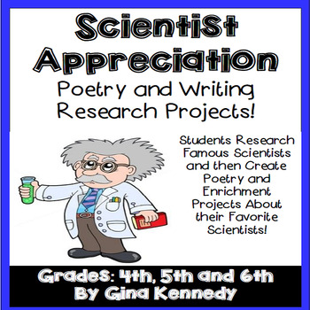 Scientists Appreciation Writing, Poetry and Research Projects