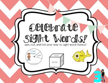 Sight Word Games: 3 Dolch Sight Word Games: pre-primer, pr