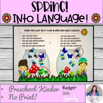 Spring into Gardening: 11 Early Intervention Language Activities.