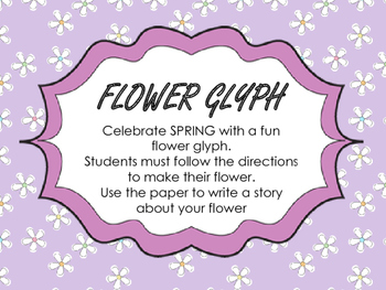 Celebrate Spring with a Flower Glyph!