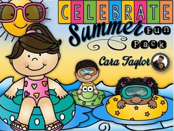 Celebrate Summer Fun Pack ~ Print and Go Printables, Art, Craftivity