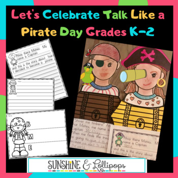 "Pirates:  Celebrate ""Talk Like a Pirate Day"" on Sept. 19 with Reading & Writing"