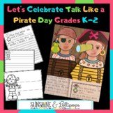 "Pirates:  Celebrate ""Talk Like a Pirate Day"" on Sept. 19 w"