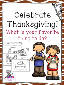 Celebrate Thanksgiving Mini Book
