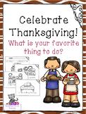 Celebrate Thanksgiving Mini Book
