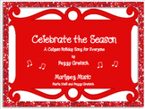 Holiday Calypso/Simple Orff Arrangement /Elementary Choral