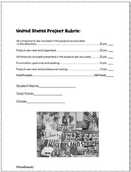 United States History Enrichment Projects