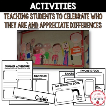 Celebrate Us Classroom Community Building {Back to School Lessons}
