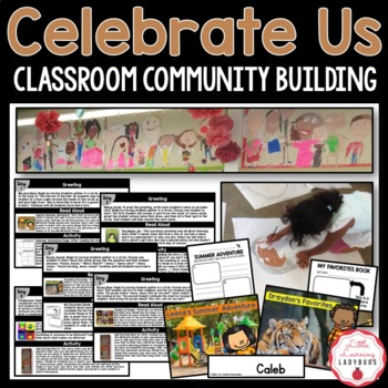 Celebrate Us Classroom Community Building {Back to School