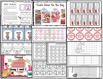Celebrate Valentine's Day - February Activities for 2nd, 3rd, and 4th grade