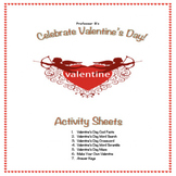 Celebrate Valentine's Day! Middle School Activity Sheets