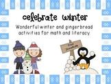 Celebrate Winter -Fun Craft, Math and Literacy activities