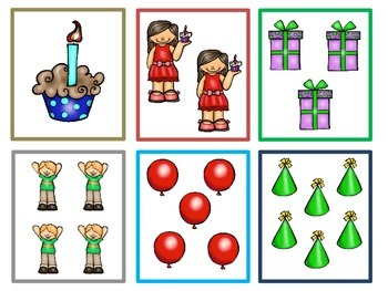 Celebrate With Numbers 1-10 ~ Math Activities