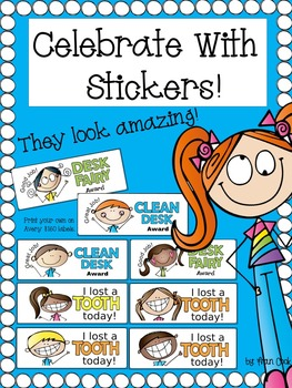Stickers, Rewards, Positive Messages...Celebrate With Stickers!