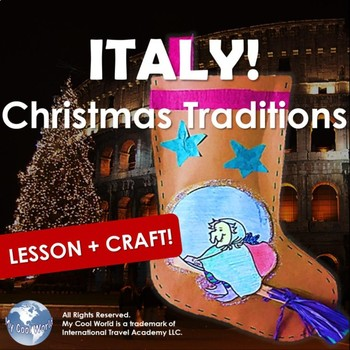 Celebrate Christmas Traditions in Italy! Includes Craft