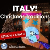 Italy! Christmas Traditions - Lesson & La Befana Paper Stocking Craft