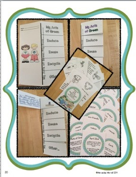 Celebrate the Earth:  Reduce, Reuse, Recycle!  Flip Books & More