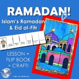 Islam's Ramadan & Eid al-Fitr in Turkey! With Flip Book & Blue Mosque Card Craft