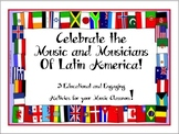 Celebrate the Music and Musicians of Latin America! Distan