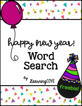 Celebrate the New Year Word Search 2018