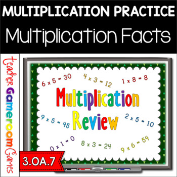 Freebie - Multiplication Review - PPT Game