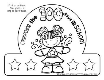 Celebrating 100 days of school (Spanish & English) #dollardeals