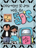 Celebrating 50 Days of School...An Upper Elementary Sock Hop