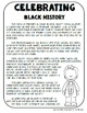 Celebrating African American History Interactive Lap Book: