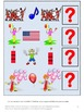 America Symbols Math and Literacy Interactive File Folder Games Summer Review
