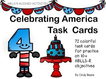 Celebrating America Task Cards