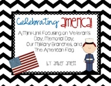Celebrating America! Veteran's Day, Memorial Day, Soldier Activity Pack
