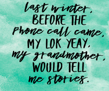 Celebrating Asian Pacific American Culture- Famous First Lines