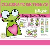 "Celebrating Birthdays! ""Frog"" Theme...Cards, Tags, Bookmar"