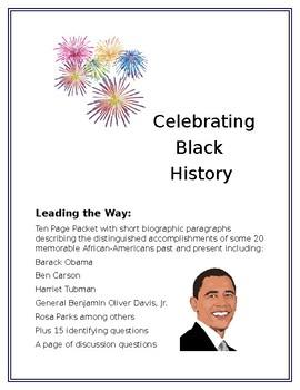 Celebrating Black History:  Leading the Way