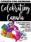 Celebrating Canada: Regions Museum Box Project