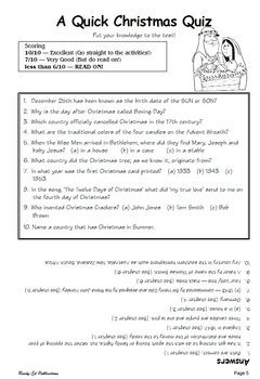 Celebrating Christmas - Teachers' Notes