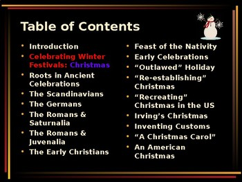 Celebrating Christmas Traditions - Religious Festivals