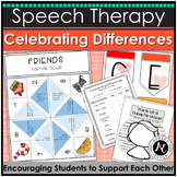 Celebrating Differences: Language and Social Skill Activities