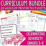 Celebrating Diversity Bundle for 10 Diverse Mentor Texts (Grades 3-5)